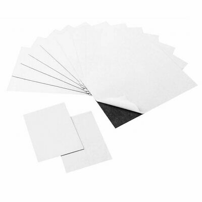 Adhesive Magnetic Sheets, 4 x 6 & 2 x 3 Peel & Stick Magnet Sheets (14 Pieces)