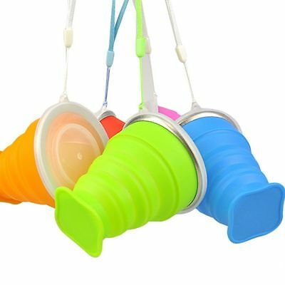Foldable Water Outdoor Tea Tool Coffee Camping Cup Collapsible Travel Silicone