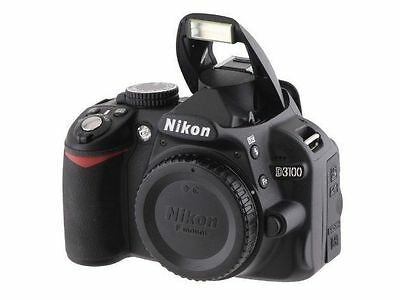 Nikon D3100 Digitale Spiegelreflexkamera Body Live View, Full-HD