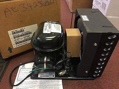 TECUMSEH NEW REFRIGERATION CONDENSING UNIT, 1/5HP, 115V, R12 MP39 HOT SHOT Freon