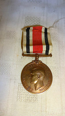 George Vi Police Special Constabulary Long Service Medal - William F Jones