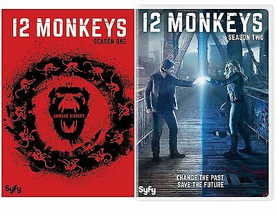 12 Monkeys: The Complete Series Season 1-2 (DVD) NEW