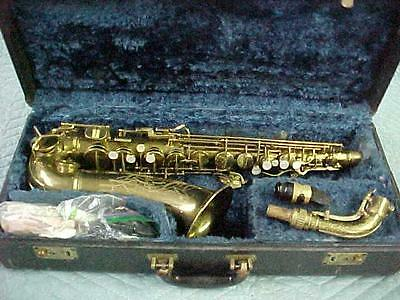 Vintage Conn 6M Alto Saxophone, Naked Lady with New Pads