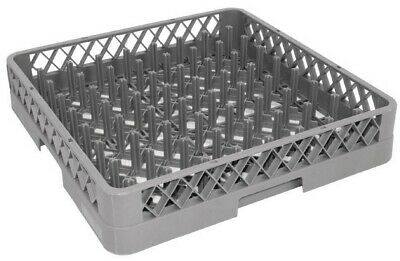 Commercial Dishwasher Plate Rack Catering Dishwasher Basket Spiked Pegged 500mm