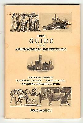 Booklet - Brief Guide to the Smithsonian Institution - Second Edition - 10 cents
