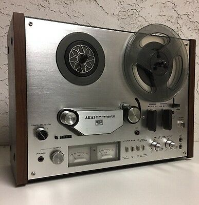 Vintage AKAI GX-4000D Reel to Reel Tape Deck Recorder Stereo Player