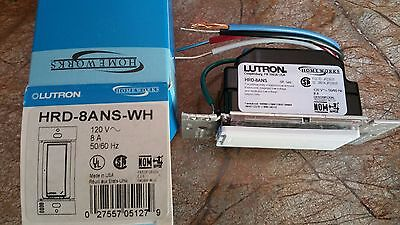 ❶ Super Rare! Lutron HRD-8ANS-WH Homeworks RF 8amp Switch  -  Last New Ones!