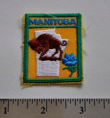 Manitoba, Boy Scouts Canada Badge, Patch, New