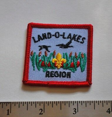 Land-O-Lakes Region, Boy Scouts Canada Badge, Patch, New