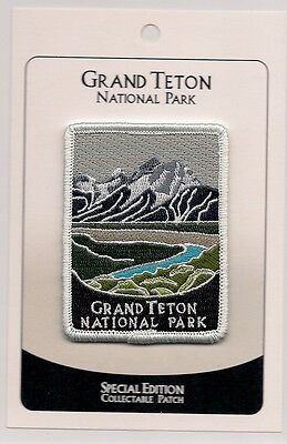 Grand Teton National Park Souvenir Patch  - Special Edition Traveler Series