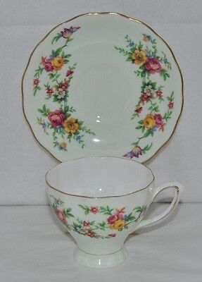 Beautiful Vintage Colclough, Fine Bone China Tea Cup and Saucer