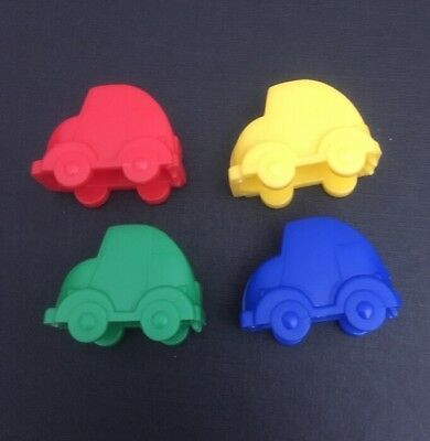 Monopoly Junior Cars x4