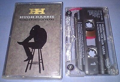 HUGH HARRIS WORDS FOR OUR YEARS cassette tape album T3224