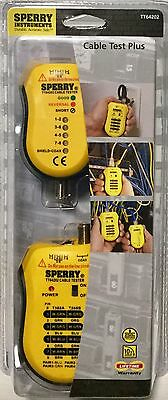 Sperry Instruments Cable Test Plus Coax & UTP/STP Cable Tester