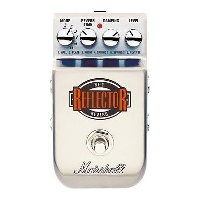 Marshall RF-1 Reflector Reverb Pedal - NEW