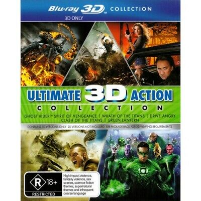 Clash of the Titans (2010) / Drive Angry / Ghost Rider 2 / Green Lantern / Wrath