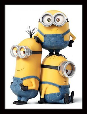 Minions - Characters - 30 x 40cm Framed Poster Print FP11578P