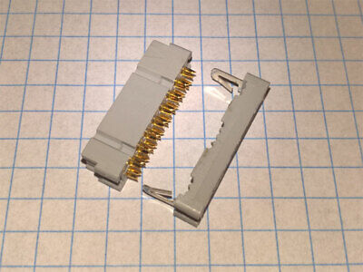 3M NO3452 IDC plug 16pin for AWG flat cable Lot-10pcs