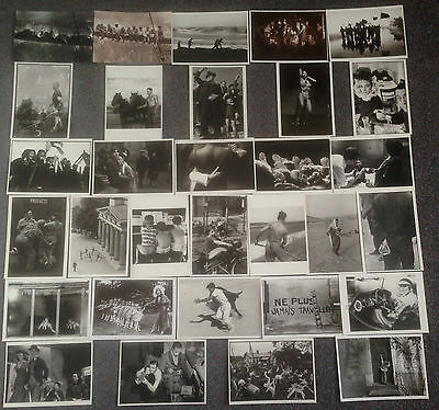 Lot Of 31 Photographic Social History / Photojournalism Postcards