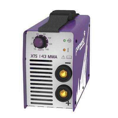 XTS 142 MMA Arc Welding Inverter PARWELD140 AMP 230v with TIG - FREE GLOVES