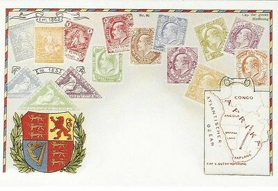 """South Africa 1996 Centenary of the South African Postcard """"Cape of Good Hope"""""""