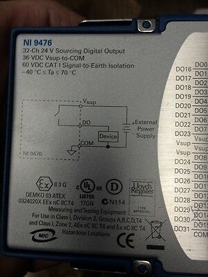 national Instruments 9476