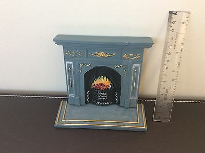 Dolls House Furniture Fire Surround And Hearth