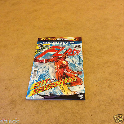 Dc Super Heroes Rebirth The Flash Issue 2 Feb/march 2017 Green Arrow Inside