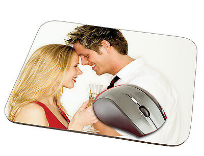 New Personalised Custom Printed thick Quality Rubber Soft Touch Mouse Mat
