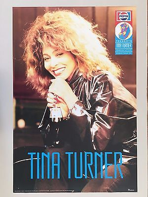 Tina Turner, 'foreign Affair, World Tour 1990' ,authentic1990 Promo Poster