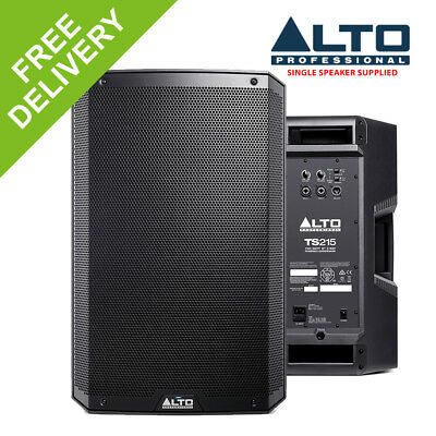 """Alto TS215 15"""" Inch Active DJ Powered Speaker Cabinet Portable PA System 1100W"""