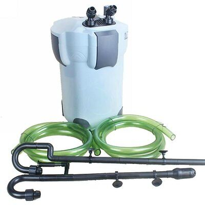SunSun HW-404B 525 GPH 5-Stage External Canister Filter with 9W UV Sterilizer