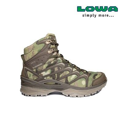 Chaussures Rangers Lowa Innox Multicam Gore-Tex Mid Task Force taille 43,5