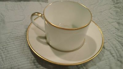 Bernardaud Carre Palmyre THE EXT. BOUC. BEULE Tea/Coffee Cup And Saucer NWT $90