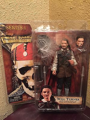 Pirates of the Caribbean Curse of the Black Pearl Will Turner Series 1 By NECA