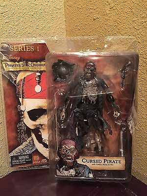 Pirates Of The Caribbean Curse Of The Black Pearl Cursed Pirate Series 1 By NECA