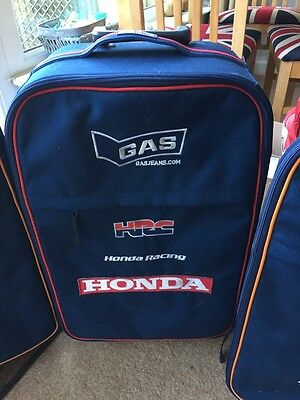 Team Issue Gas Repsol Honda Hrc Small Suitcase. Used. Rare