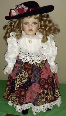 "Vintage Limited Edition 18"" Seymour Mann Porcelain Doll ""Mary Jo"""
