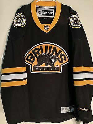 NHL Boston Bruins Alternate Premier Ice Hockey Shirt Jersey