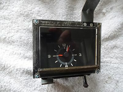 1977 - 1984 Chevy Impala Caprice clock original used working great condition