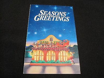 Rare Vintage 1981 Taco Bell Advertising Christmas Card Coupon.