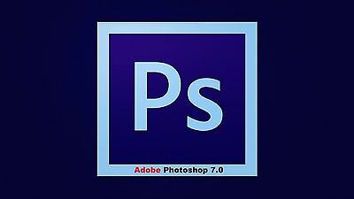 Adobe Photoshop 7 Photo Editing Software For Windows Complete Version