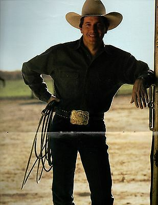 George Strait Centerfold Poster Clipping