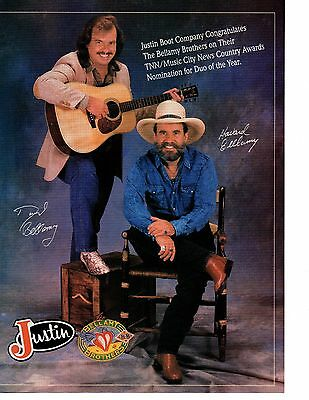 Lot of 3 The Bellamy Brothers Clippings 5 Pages