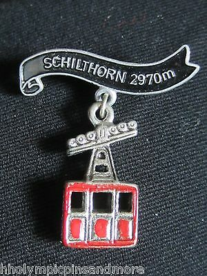 Schilthorn in Germany 297 m souvenir travel pin