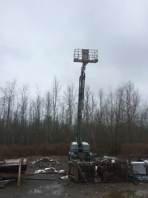 JLG Skyjack SBJ-66TK 4X4 Aerial Work Platform Man Lift Boom working condition