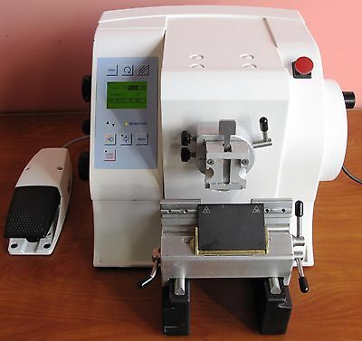 Microm Hm355 S-2 Automated Rotary Microtome With Foot Switch