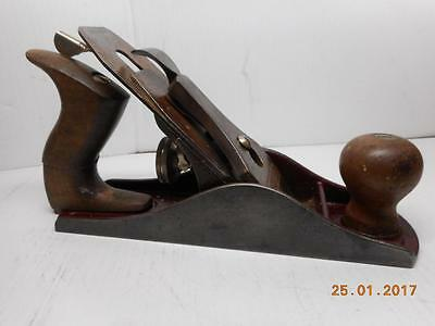 VINTAGE STANLEY No.4 Hand Plane BROWN Body Made in Canada