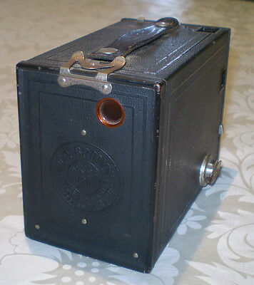 Antique C1920 Eastman Kodak No. 2 Brownie Camera Model F Made In The Usa