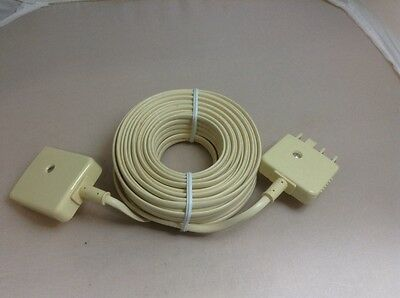 15m Telephone Plug to Socket Extension Lead